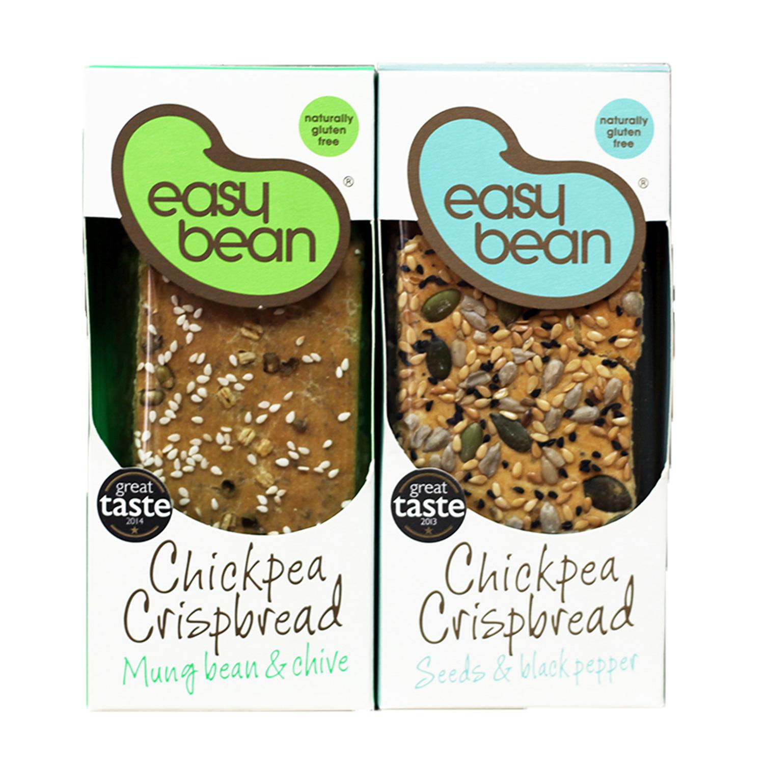 Easy Bean Crackers