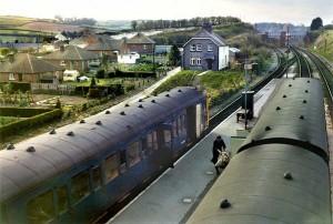 Maiden Newton Train Station